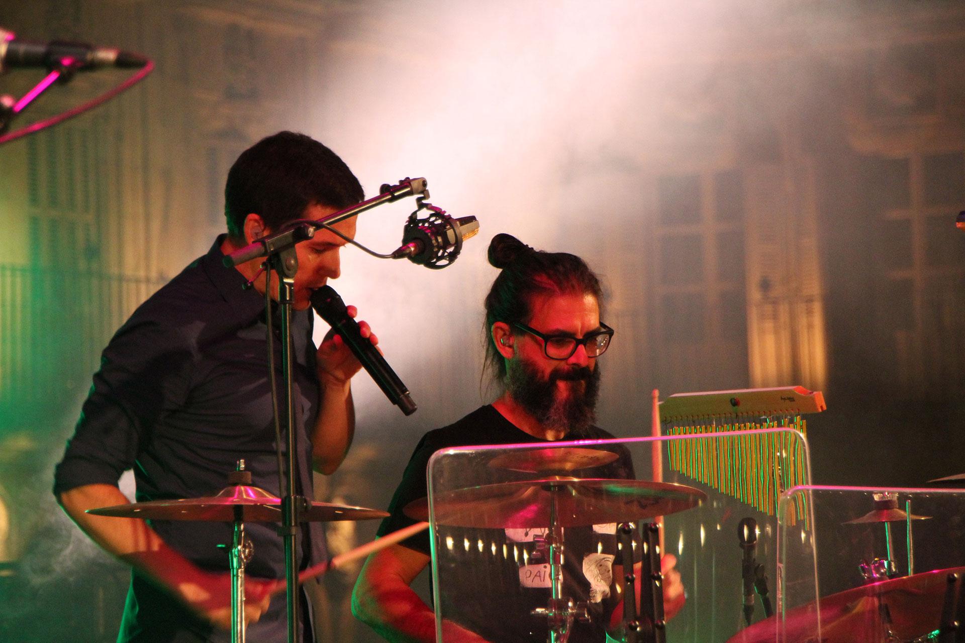 Serginho Moreira, concert Maldita Nerea Salamanca